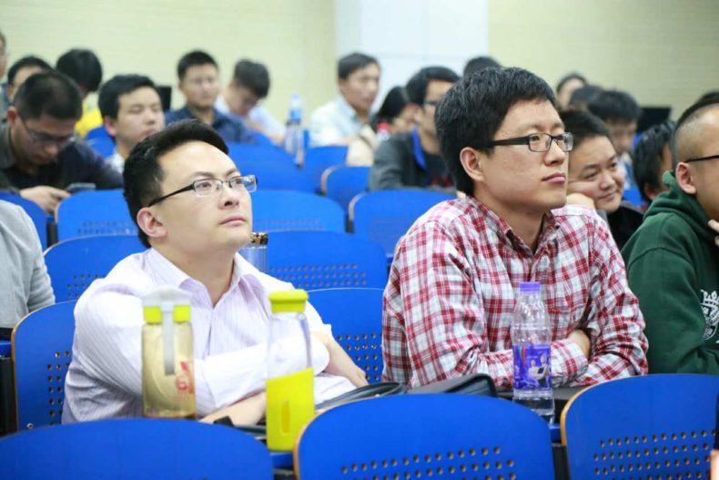 来自合肥工业大学、阜阳师范学院、合肥学院等高校的教师及学生也到中国科大直播互动现场观摩